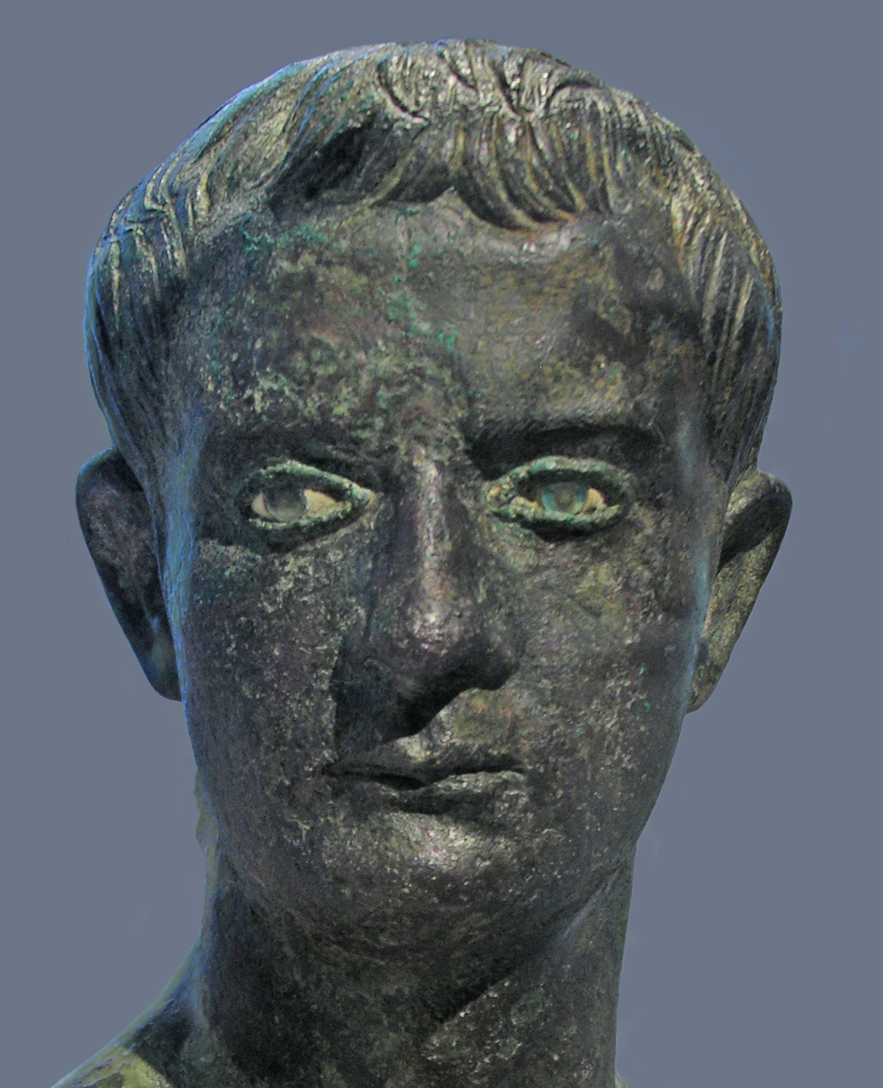the digital sculpture project 22 bronze bust of caligula in the metropolitan museum of art new york photo author